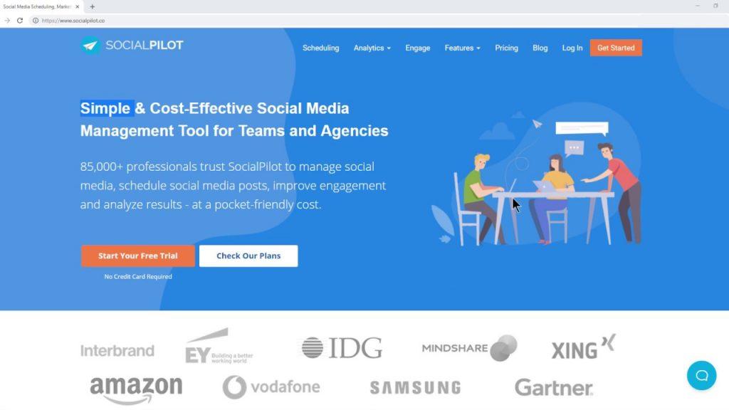 About SocialPilot