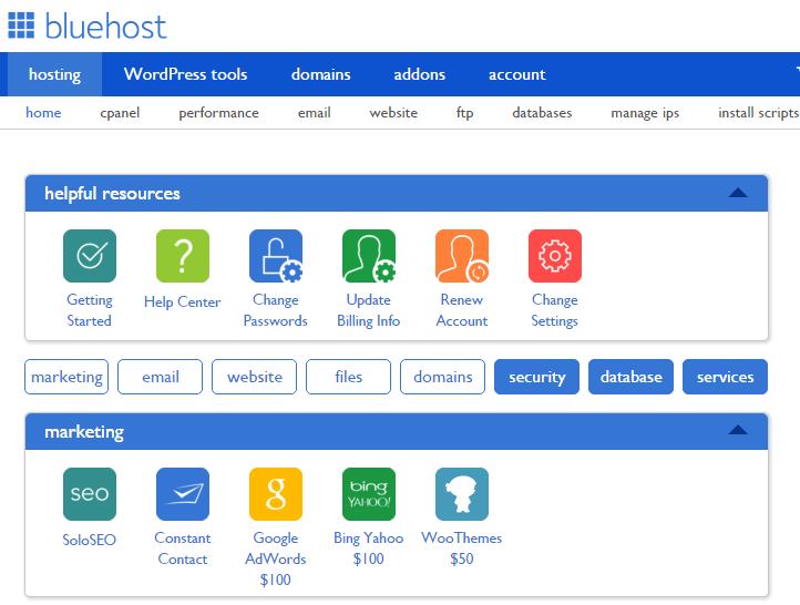 bluehost